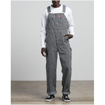 Dickies Men's Hickory Stripe Overalls Hickory Stripe - Jeans 2021 Trends LWUPCMY