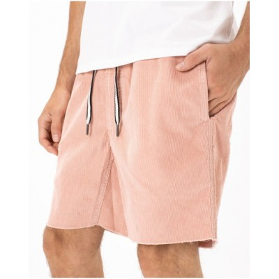 Barney Cools Men B.Relaxed Short Rose Corduroy - Shorts outfits LOCEOUM