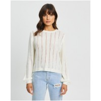 The Fated Womens Isabel Jumper Ivory - Knitwear new look MYQVPOX