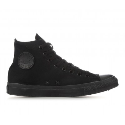 Adults' Converse Chuck Taylor All Star Canvas High-Top Sneakers Blk/Monochrome Business Casual 451W83079