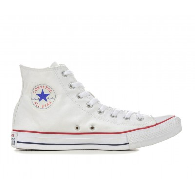 Adults' Converse Chuck Taylor All Star Canvas High-Top Sneakers Opt White Formal on style C6O7W6219