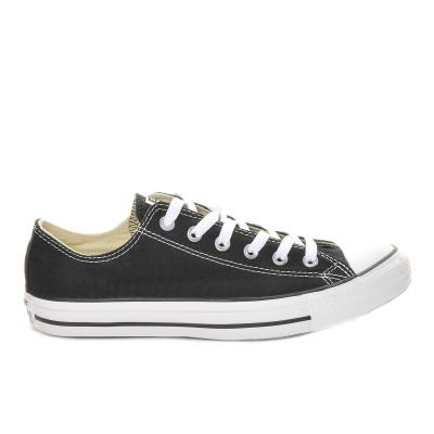 Adults' Converse Chuck Taylor All Star Canvas Ox Core Sneakers Black Going Out Hot JMEQH7352