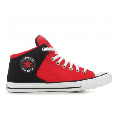 Adults' Converse Chuck Taylor All Star High Street High Top Sneakers Red/Black/White Going Out spring 2021 NG1YH2602