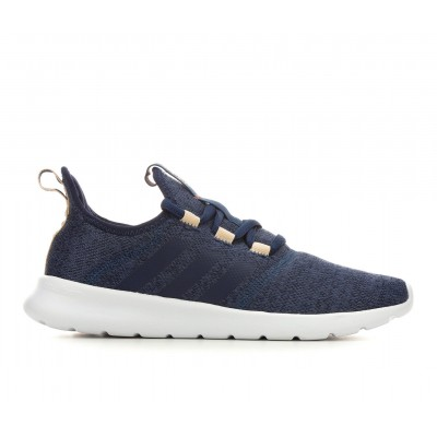 Women's Adidas Cloudfoam Pure 2.0 Primegreen Sneakers Navy/Blush Recommendations 7B73N7251
