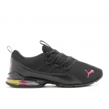 Women's Puma Riaze Prowl Rainbow Sneakers Black/Multi Going Out Clearance Sale MEF168994