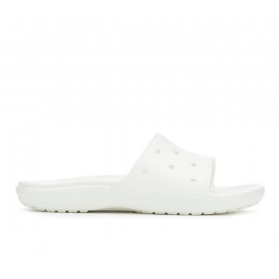 Adults' Crocs Classic Slide Sandals White new in ELW0Y8798