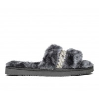 Minnetonka London Sandals Charcoal Going Out Top Sale 2Y0QS8054