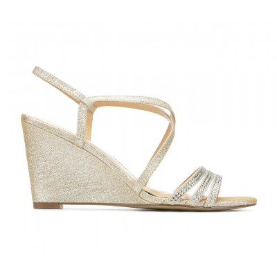 Women's American Glamour BadgleyM Yori Special Occasion Shoes Gold Going Out U4L2B8839