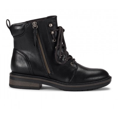 Women's Baretraps Amysue Lace-Up Boots Black Going Out in style 5Q5SB656