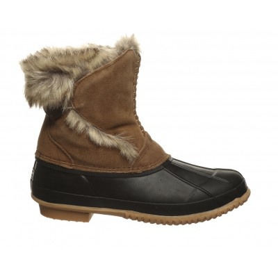 Women's Bearpaw Deborah Winter Duck Boots Hickory II Going Out outlet A85V9215