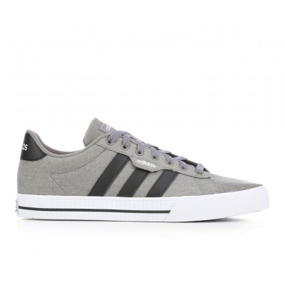 Men's Adidas Daily 3.0 Sneakers Gry/Black/White Formal BSJGP2832