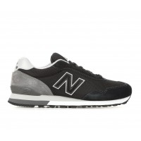 Men's New Balance ML515 Sneakers Black/Gry/White Business Casual On Line KSZ003317