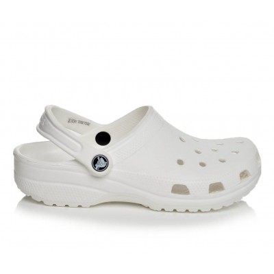 Adults' Crocs Classic Clogs White Going Out HXU204644