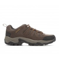Men's Columbia Lakeview II Low Hiking Boots Cordovan/Mud Business Casual The Best Brand KSAVW7610