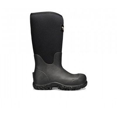 """Men's Bogs Footwear Workman 17"""" Comp Toe Work Boots Black Going Out on clearance 2GG4H1016"""