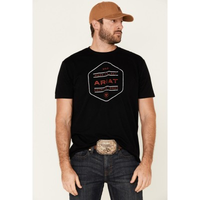 Ariat Men's Black Made To Last USA Graphic T-Shirt H5NBY2500